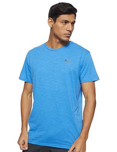 PUMA Herren T-Shirt Energy SS Tee, Palace Blue Heather, M, 517318