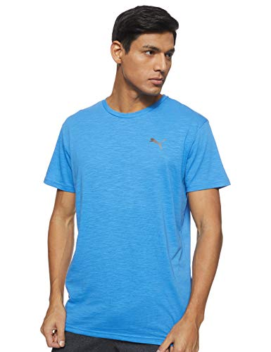 PUMA Herren Energy SS Tee T-Shirt, Palace Blue Heather, XXL