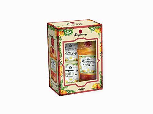 Tanqueray - Flor de Sevilla Ginebra inglesa con sabor a naranjas amargas de Sevilla - Edición limitada con posavasos de regalo, 70 cl