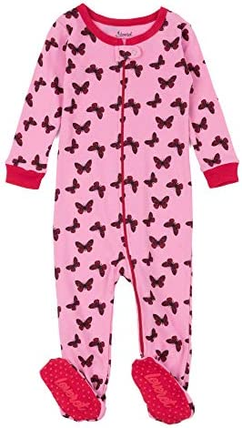 Leveret FootedStriped Baby Girl Variety Pajama Sleeper 100/% Cotton Size 6M-5T