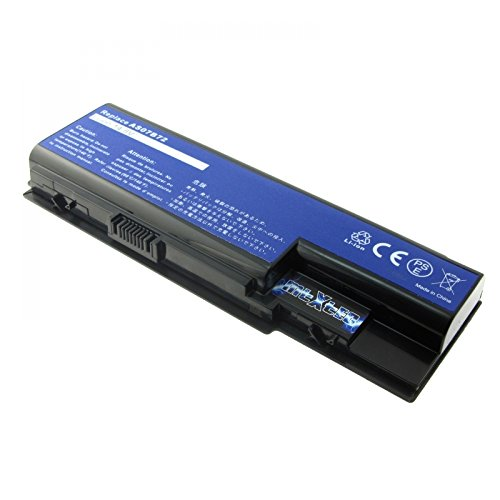 MTXtec Batterie pour Acer AS07B42, 8 Cellules, LiIon, 14.8V, 4400mAh, Noir