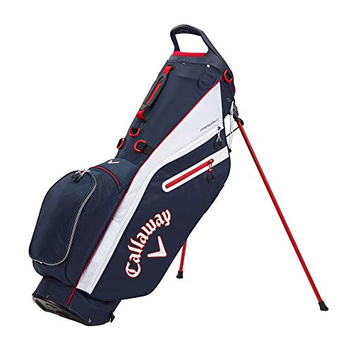 Callaway Golf 2021 Fairway C Stand Bag Navy/White/Red