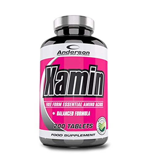 Anderson Integratore Kyowa Xamin aminoacidi essenziali BCAA - 200 Compresse