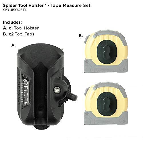 Spider Tool Holster - Maßband-Set - Sicherer Halt und schneller Zugriff auf Ihr Maßband!