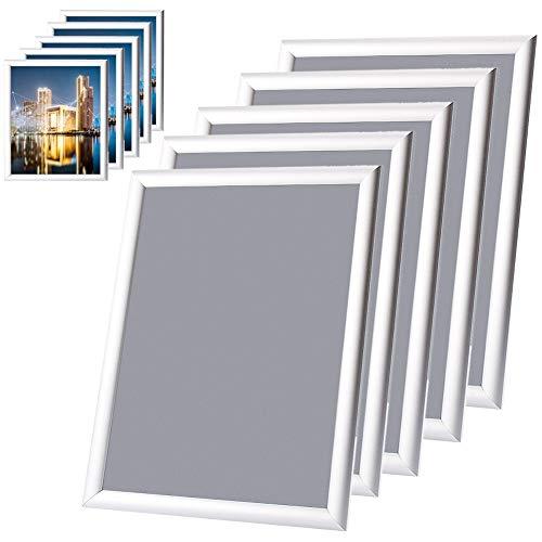 Uitla Fotolijst van aluminium, fotolijst, formaat A0/A1/A2/A3 fotolijst, zilverkleurig A3 5Pz