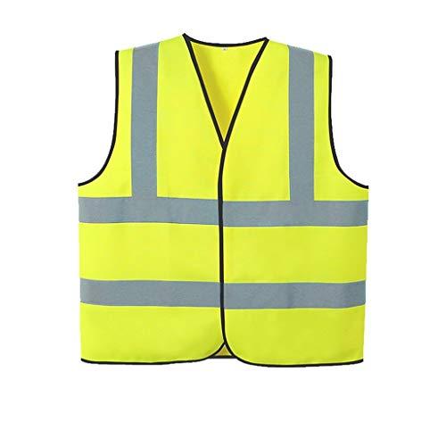 Ya-ya reflecterend veiligheidsvest, veiligheidsvest, fluorescerende jas, straatbouw, verkeersveiligheid, reflecterende beschermende kleding