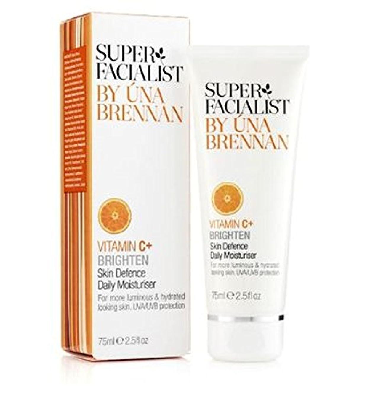 なめらか生じるシフトスーパーFacialistのビタミンC +皮膚の防衛毎日の保湿75ミリリットル (Superfacialist) (x2) - Super Facialist Vitamin C+ Skin Defence Daily Moisturiser 75ml (Pack of 2) [並行輸入品]