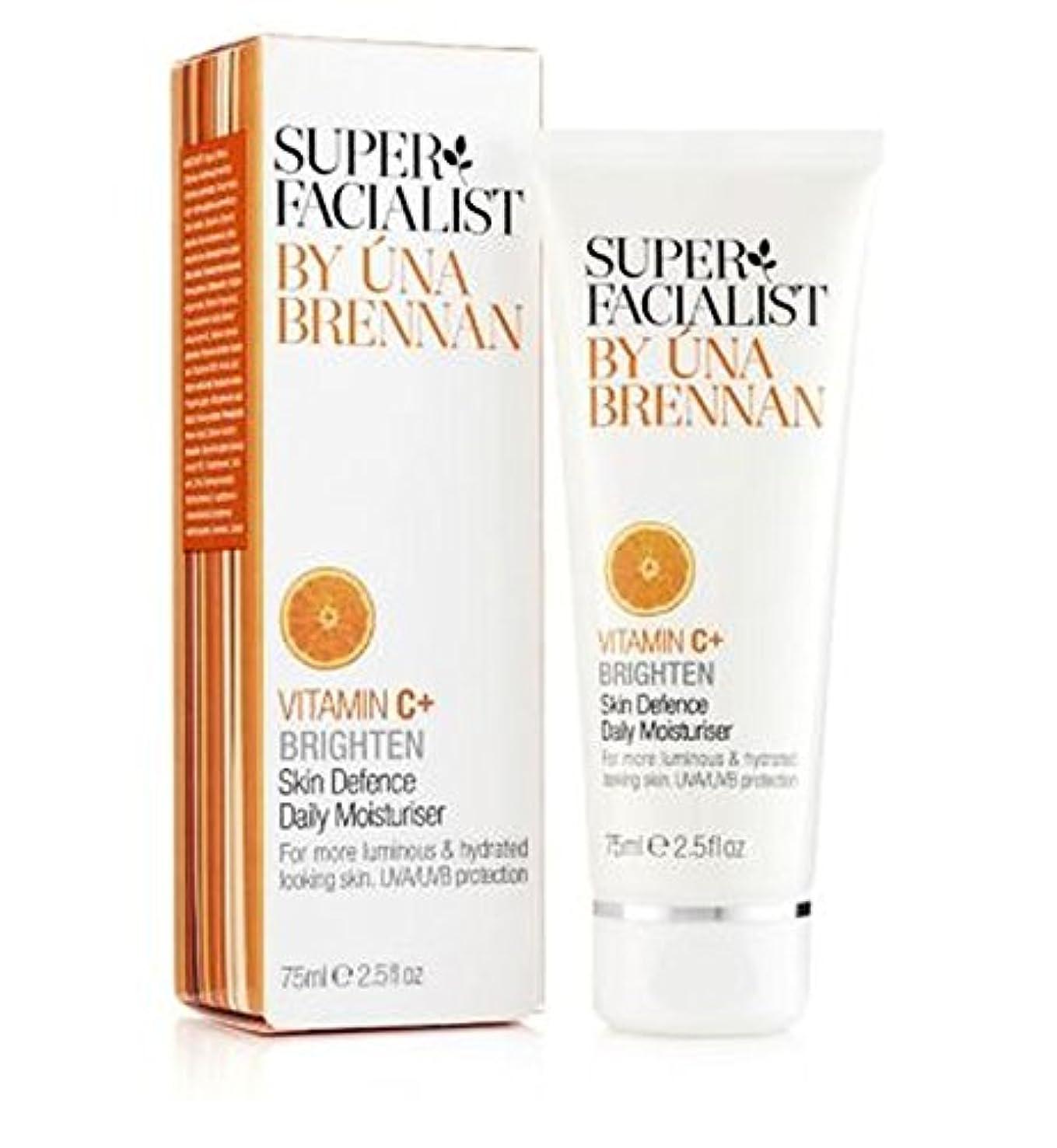 十分な対心臓スーパーFacialistのビタミンC +皮膚の防衛毎日の保湿75ミリリットル (Superfacialist) (x2) - Super Facialist Vitamin C+ Skin Defence Daily Moisturiser 75ml (Pack of 2) [並行輸入品]