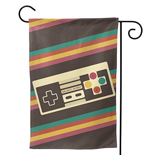 Video Game Double Sided Garden Flag Yard Outdoor Decorative Flag