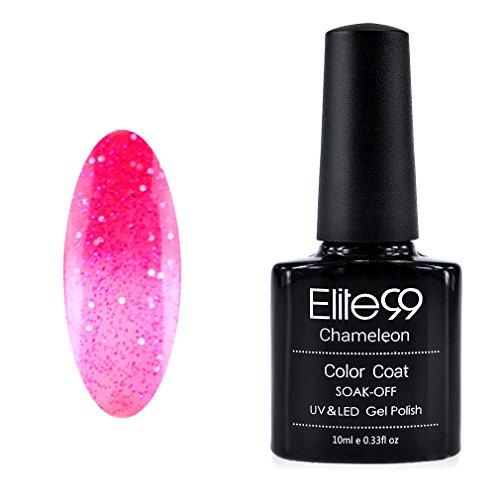 Elite99 Vernis A ongles Température/Soleil Change Caméléon Thermique UV Gel Nail Polish 5739