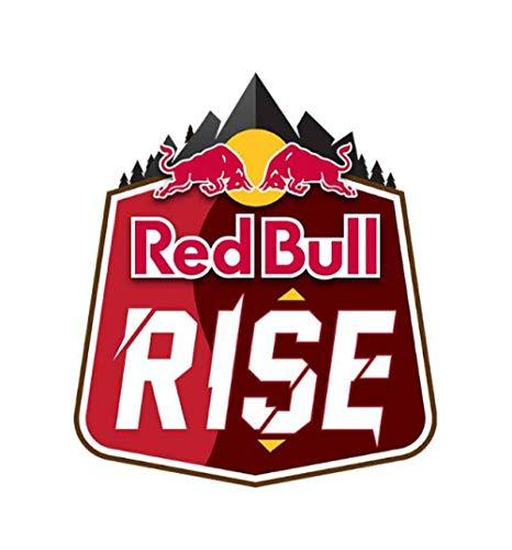 Autoaufkleber Red of Bull Autoaufkleber Grafiken Herzschlag Linie Blumenauto Aufkleber Dekoration Mode Fenster Aufkleber 13 cm x 11,5 cm 2 Stk