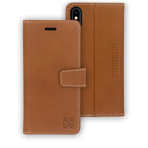 SafeSleeve EMF - Funda para iPhone X y iPhone Xs RFID EMF bloqueo de teléfono celular