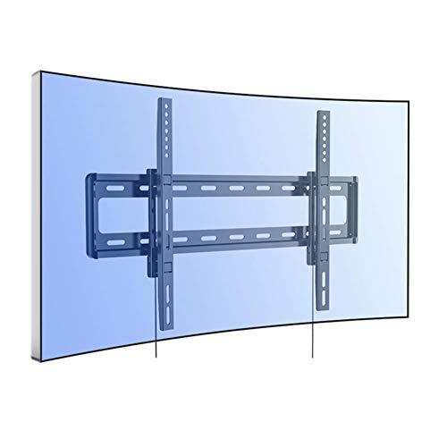 Soporte para TV Panel Curvo UHD HD Soporte Fijo para Montaje en Pared para TV para la mayoría de televisores LED LCD Plasma OLED de 32-70 Pulgadas