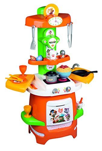 Smoby 44 Gatos - Cocina de la Abuela Pina, para Niños a Partir de 18 Meses - 49 x 28,5 x 66,5 cm