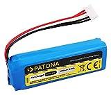 PATONA Batterie de Rechange pour JBL GSP1029102A 6000 mAh Compatible avec JBL Charge 3 (2016)