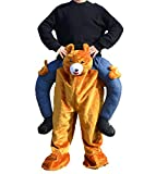 SANEYDER Halloween Teddy Bär Piggyback Kostüme Ride on Me Riding Schulter Cosplay Maskottchen...