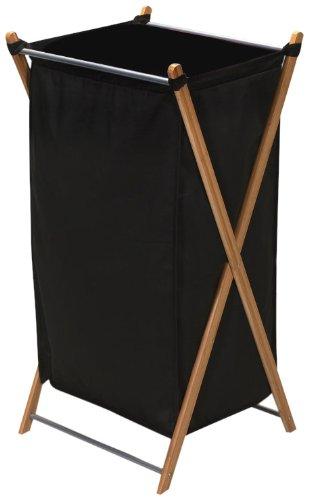 Household Essentials 6540–1Plegable Ropa Sucia Marco de bambú |...