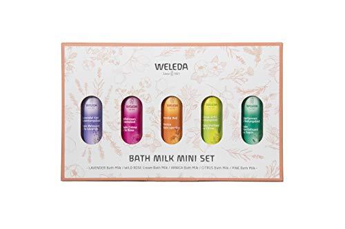 WELEDA(ヴェレダ) バスミルク ミニセット 入浴剤 5つの香り 20mL(2回分)×5本