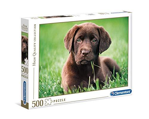Clementoni- Chocolate Puppy Puzzle, 500 Pezzi, Multicolore, 35072