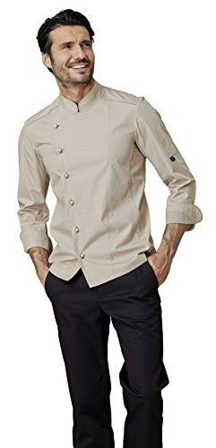 Inserti traspiranti - Taglia: S Varianti: nero gr SIGGI 190 Peso al mq Giacca per cuoco Alex in cotone drill 100/% irrestringibile