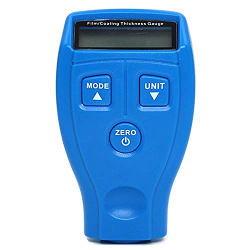 Neoteck Digital Thickness Gauge 0-12.7mm Portable Electronic Percentage Thickness Meter Fractions Inch Metric with Precise LCD Display