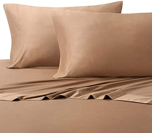 Royal's King Taupe Silky Soft Sheets 100% Viscose from Bamboo Sheet Set