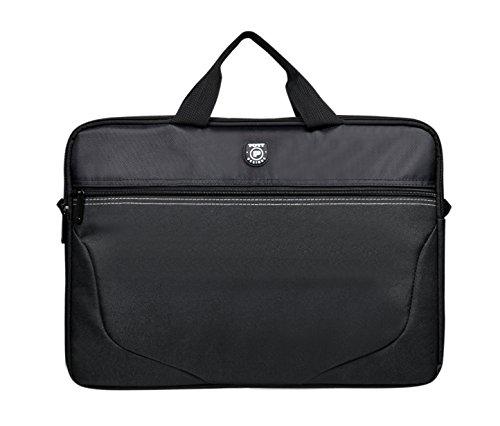 Port Designs Polaris maletines para portátil 43,9 cm (17.3″) Maletín Negro – Funda (Maletín, 43,9 cm (17.3″), Tirante para Hombro, 320 g, Negro)