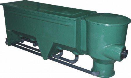 * AL Teichfilter GFK Reihen-Vortex 4 Kammern komplett mit Filtermedien *