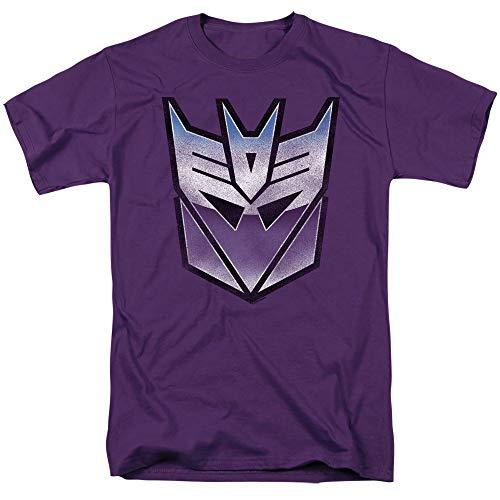 Transformers T-Shirt Blue and Purple Decepticon Purple Tee, 2XL