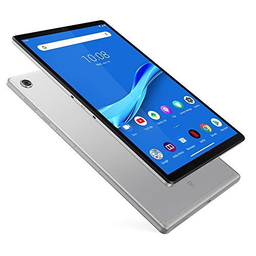 Lenovo M10 FHD Plus - Tablet de 10.3' Full HD (MediaTek Helio P22T, 4 GB de RAM, 64 GB ampliables hasta 256 GB, Android 9, 4G LTE, WiFi y Bluetooth 5.0), Platinum Grey