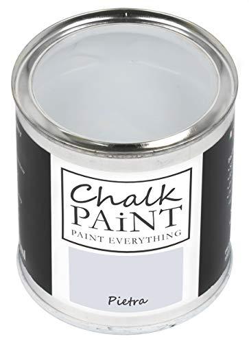Everything CHALK PAINT Pietra 250 ml - SENZA CARTEGGIARE Colora Facilmente Tutti i Materiali