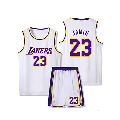 Basketball-Trikots für Herren James 23# 6# Lakers Heat Cavs Trikot Basketball-Shorts für Herren, Trikots für Herren Trikots für Damen Klassisches Trikot Lustiges Trikot Weiß Schwarz Rot Gelb Li