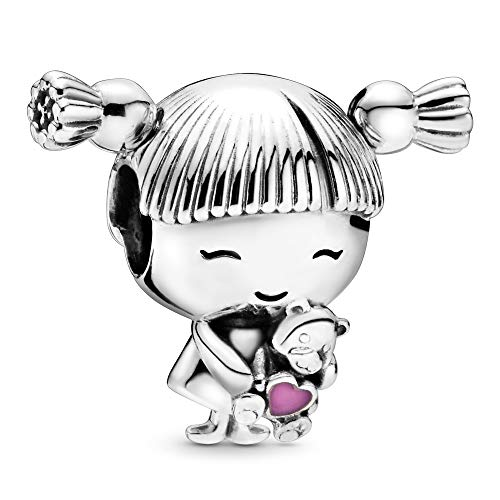 Pandora Jewelry Little Girl Sterling Silver Charm