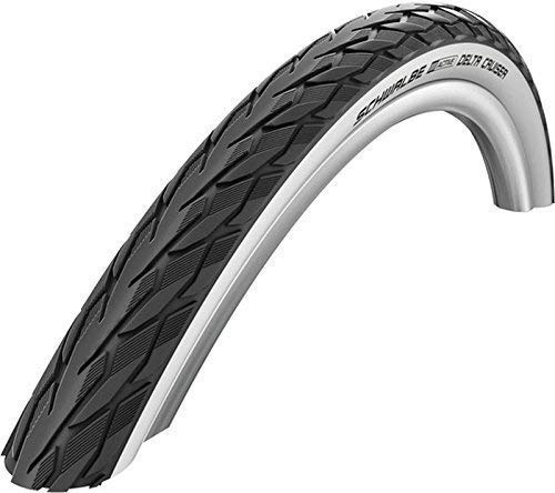Bohle Bereifung Set Fahrrad und Rollstuhl 24 x 1-3/8 (37-540) schwarz/weiß
