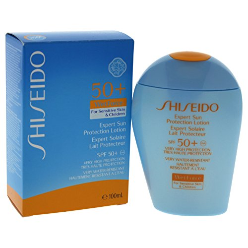 Shiseido Expert Sun Lotion For Sensitive Skin & Children Spf50+ 100Ml 1 Unidad 100 g