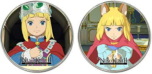 MasTazas Ni no Kuni II Revenant Kingdom 2 Imanes Metalicos Circulares 5,4 cm