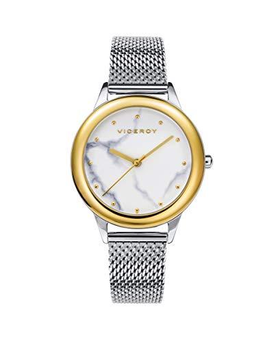 VICEROY - Reloj Acero IP Dorado Brazalete Sra Va - 42408-07