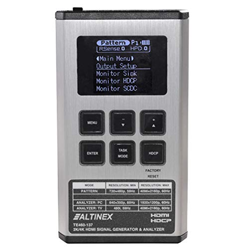 2K/4K HDMI Signal Generator, Analyzer and Cable Tester