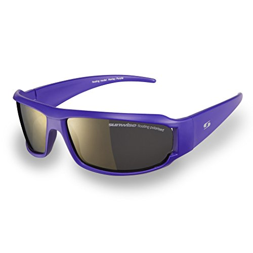 Sunwise Equinox Red occhiali da sole unisex sport ciclismo all/'aperto in esecuzione