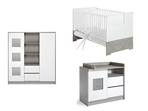 Schardt Kinderzimmer Eco Star mit 2-türigem Schrank