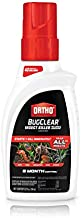 Ortho BugClear Insect Killer for Lawns & Landscapes Concentrate - Kills Ants, Spiders, Fleas, Scorpions & Other Insects, Use on Flowers, Vegetables, Fruit Trees, Shrubs & More, Odor Free, 32 oz.