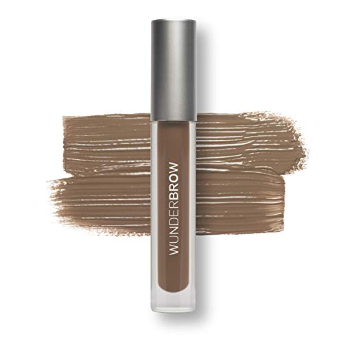 WUNDER2 WUNDERBROW Waterproof Eyebrow Gel for Long Lasting Makeup, Brunette