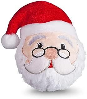 fabdog Santa faball Squeaky Dog Toy