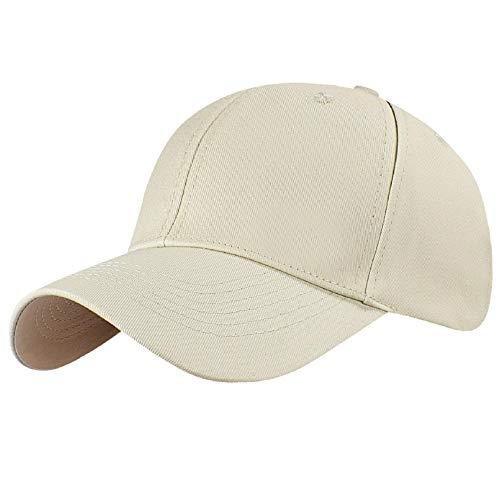 Tuopuda Gorra de béisbol Ajustable de algodón de Estilo...