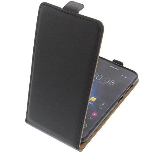 foto-kontor Tasche für Doogee F3 Pro Smartphone Flipstyle Schutz Hülle schwarz