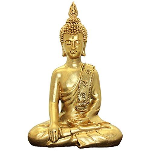 Brass Statu Thai Buddha Ornaments Home Decoration Crafts Resin Buddha Statue Bs117