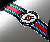 Other Martini Club Stil 'Blitze' Logo Streifen Porsche FIAT Abarth Lancia ALFA Romeo