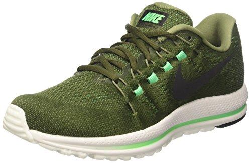 Nike Men's Air Zoom Vomero 12 Running Shoe, Green (9)