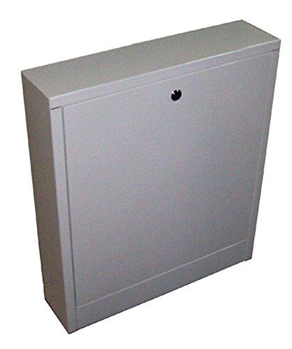 COSMO ST 900 V - Armario de distribución para montaje en superficie, color blanco lacado