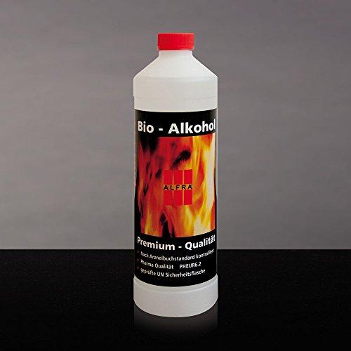 Unbekannt Bioethanol Bio-Ethanol Premium Ethanol Alkohol Bioalkohol 4X 1 Liter im Karton Alfra Alfratol